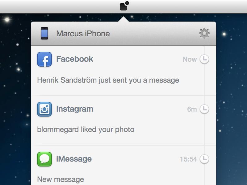 Small Mac App WIP notifications iphone mac app icons sketch facebook instagram imessage