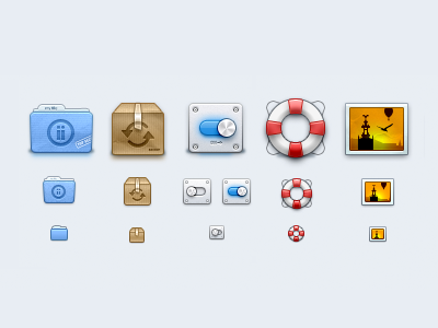 My files icons