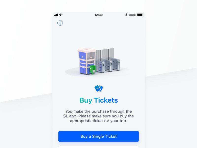 Buy Tickets! 🎟 isometric blender 3d blender app stockholm tickets ios