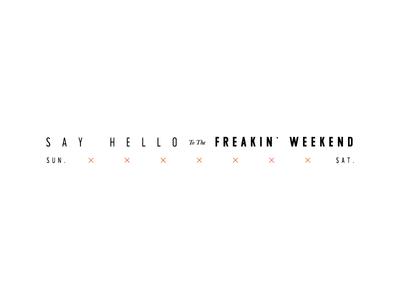 Friday's got me like