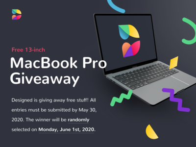 Designed.org is giving away a MacBook Pro! design education giveaway macbook apple