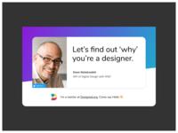 Meet Doon, a Mentor at Designed.org mentorship design community design education mentor