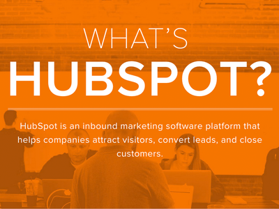 """What's HubSpot"" design"