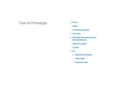 Tree UI Prototype tree node wiki structure assembla ui ux