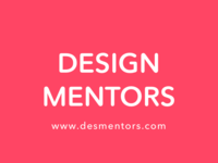 (WIP) Fun side project: Design Mentors