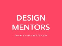 (WIP) Coming soon: Design Mentors