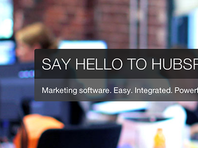 Say hello to who?! hubspot responsive design home js