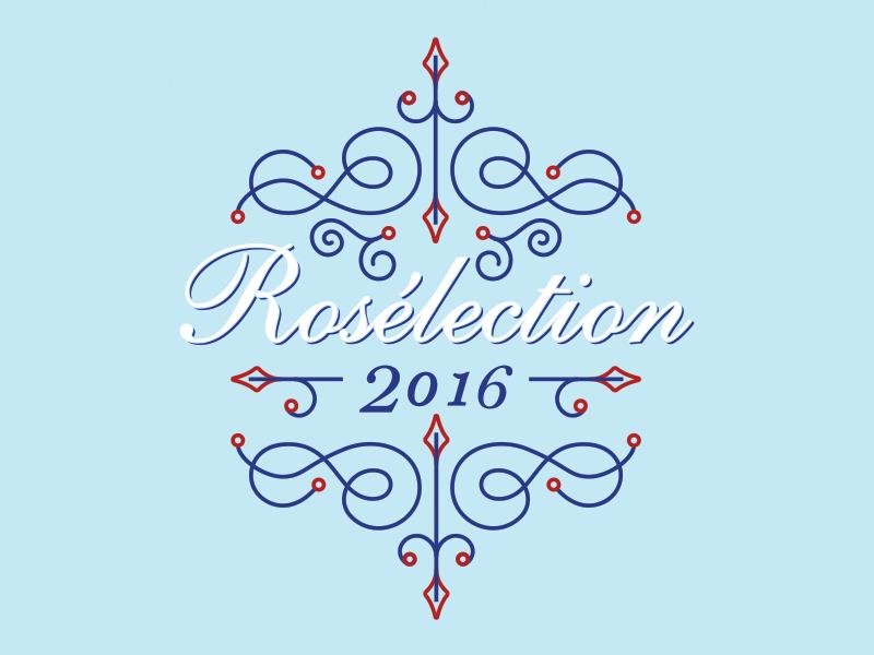 'Whine' of the Week: Rosélection packaging wine typography illustration illustrator design rosé