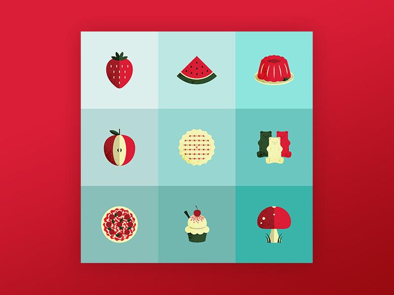 Spengoji art food fun emojis design illustration illustrator vector vector art graphic  design iconography icons
