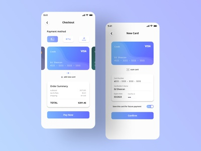 Credit Card Checkout figma appui creditcard appuidesign checkout app design creditcardcheckout checkout page
