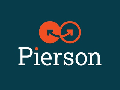 """Logo for Pierson, a """"happy"""" IT company"""