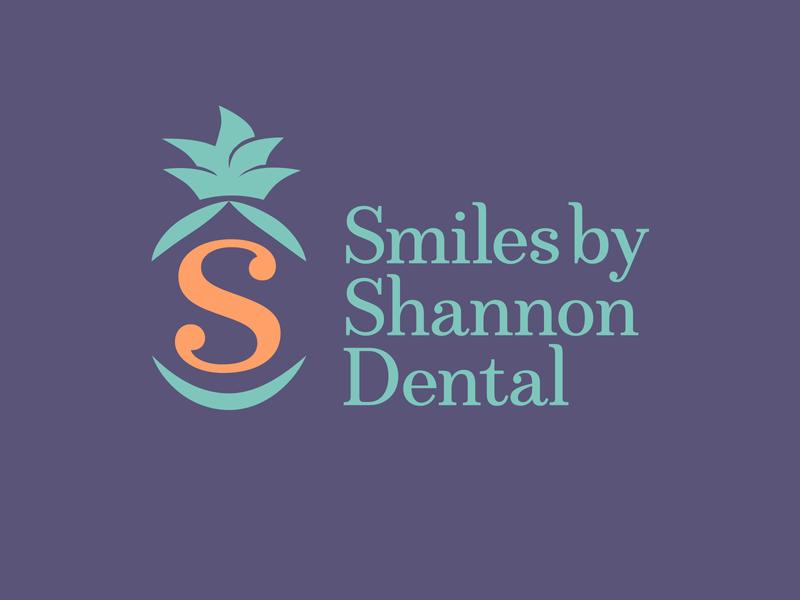 Logo for Dentist — Concept 2 pinapple denstistry dentist brand brand mark brand identity identity logo