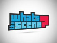 WhatsTheScene Logo Design