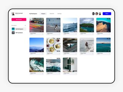 VEED.IO - Online Video Editor, User Dashboard