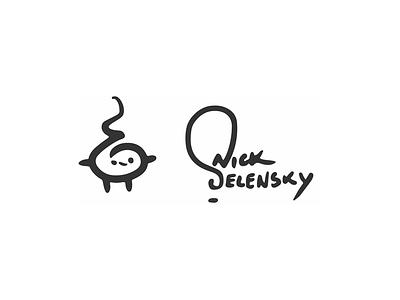 Personal Signature Idea signature quick vector doodle idea illustrator mark logo illustration