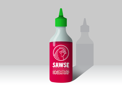 SAWSE hot sauce sauce rooster chilis peppers sriracha