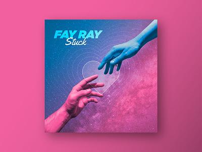FAY RAY - Single Cover album cover fay ray space heart hand single album band