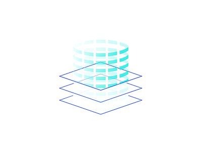 Esper illustration - organize knowledge government identity branding two color line icon illustration