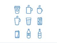 Dribbble icons large