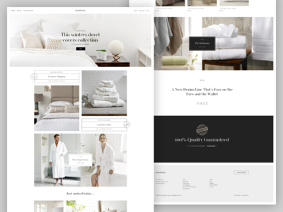 Scruples store branding ecommerce elegant clean homepage