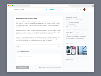 Conflux - Idea layout content grid cnflx idea detail idea page conflux