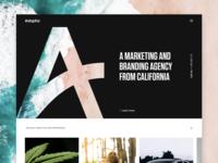 Adaptia | Marketing & Branding Agency branding design marketing california identity logo home landing agency