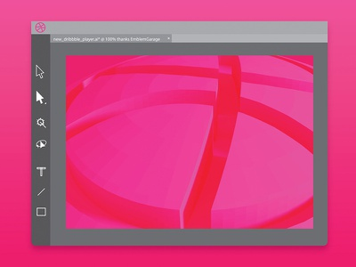 First Shot first shot ux ui interface logo illustrator player you thank thanks invite dribbble