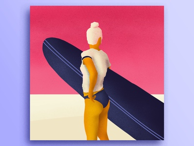 Surf Girl ivi topp ipad surfboard girl surf