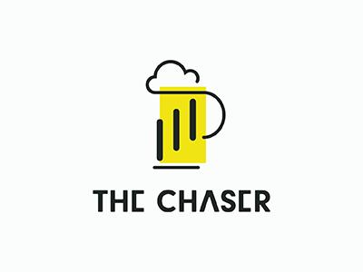 The Chaser Logo athletic icon branding logo