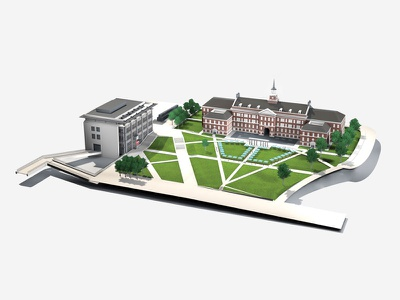 McMicken Commons model 3d