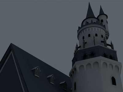 Beginning of a castle