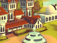 Mowrey Manor App - Exterior Map Frame