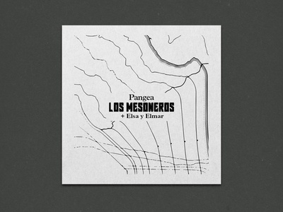 Custom Cartography and Cover Design for Los Mesoneros