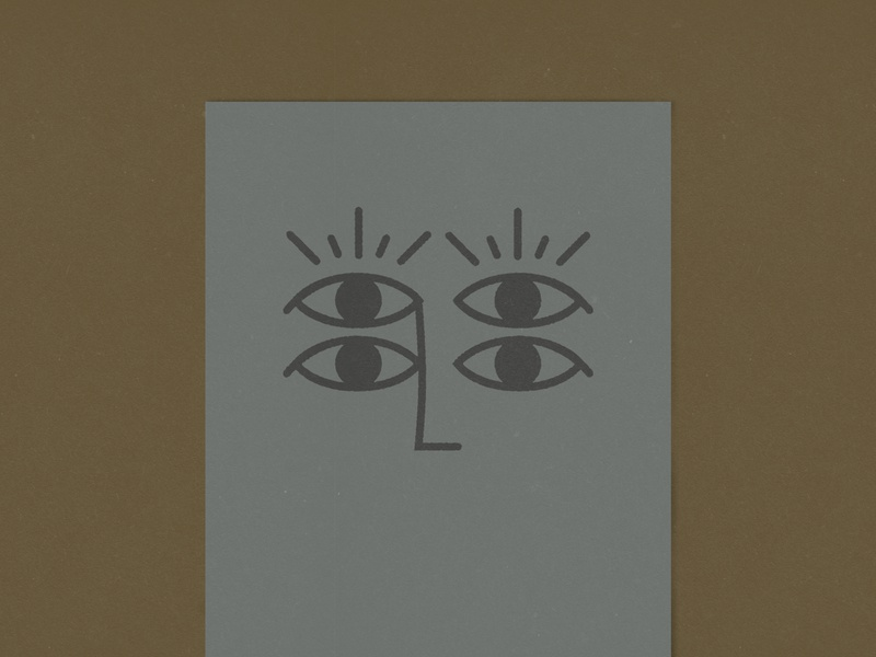 Eye'm looking at you four print symbol protection eyes