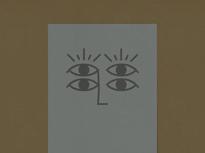 Eye'm looking at you four print symbol protection eyes