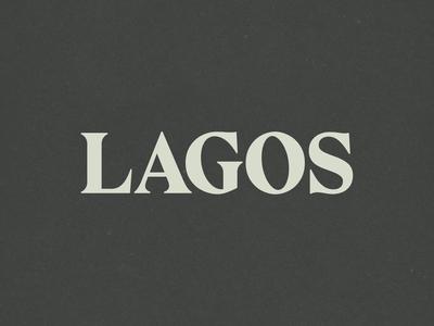 Lagos Branding