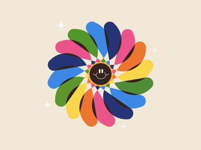 Every single color in the world color rainbow smile illustration wheel pride colors
