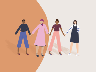 May Leave Stars Illustration community may leave stars thriver women supporting women care support cancer journey cancer holding hands women illustration stars mayleavestars