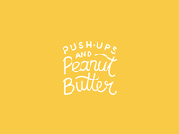Push-Ups and Peanut Butter Logo