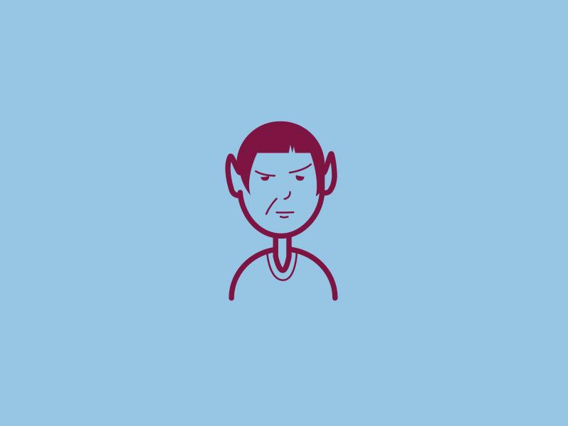 RIP Leonard Nimoy leonard nimoy memorial rip illustration spock line art clean