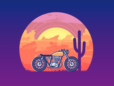 Desert Motorcycle