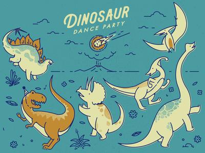Dinosaur Dance Party