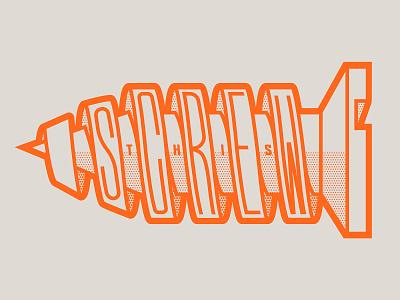 Screw This! retro tool screw lettering mood screw this