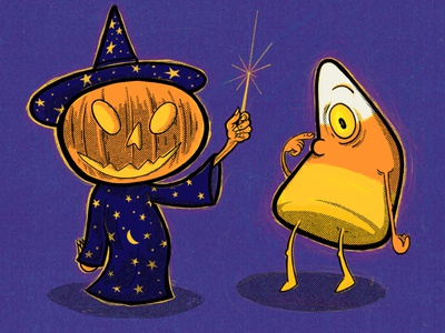 Pumpkin Witch And The Cyclopsacorn