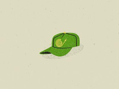 Seattle Supersonics baseball cap hat illustration nba 1966 seattle