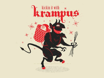 Kickin it with Krampus