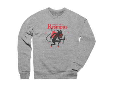 Creepin with Krampus Pullover Crewneck