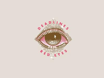 Deadlines Red Eyes Prints