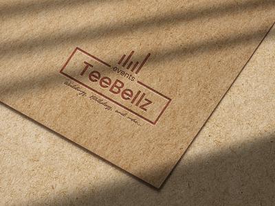 TeeBellz logo design icon typography design illustration graphic design logo branding