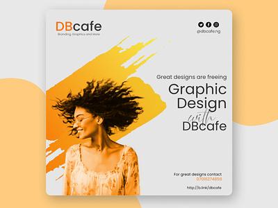 Social Media Graphic typography design branding graphic design
